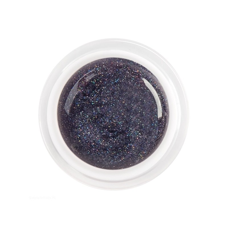 Gel Color Violet Purpurina 5ml.