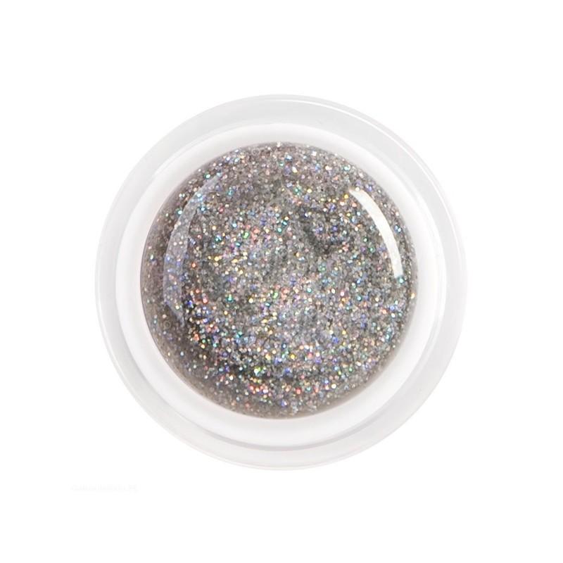 Gel Color Silver Purpurina I 5ml.