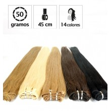 Extensiones Cortina Lisa 50gr LARGO 43cm.