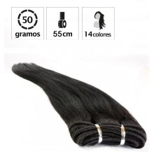 Extensiones Cortina Lisa 50gr LARGO 53cm.