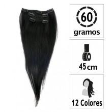 Extensiones de Clip 4 Capas Largo:43cm. Peso:60gr.
