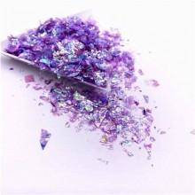 Glitter Flakes Escamas de Sirena Lila