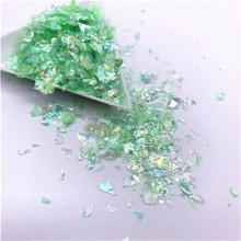 Glitter Flakes Escamas de Sirena Verde Claro