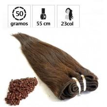 Extensiones Cortina 50Gr + 100 Anillas Largo:55cm.