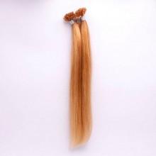 Extensiones de Queratina 100 gramos. Color 18 Rubio Ceniza Largo 43cm.