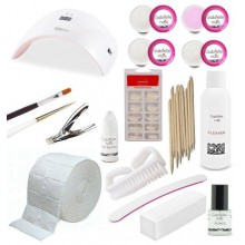 Kit Principiante Gel con Tips