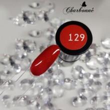 Esmalte Permanente 7ml. Rojo Purpurina (129)