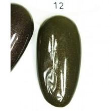Esmalte Permanente 7ml. Verde Camuflaje (12)