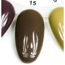Esmalte Permanente 7ml. Marrón Claro (15)
