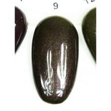 Esmalte Permanente 7ml. Verde Oscuro Perlado (9)