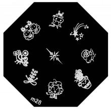 Placa Stamping M28