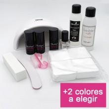 Kit Básico Esmalte Permanente - Lámpara Led 36w Mini