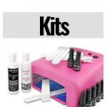 Kits para uñas de esmalte permanente con y sin lámpara UV