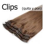 Venta de extensiones de Clip, Quita y Pon de cabello natural 100%. Calidad REMY.
