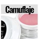 Geles de camuflaje para uñas de distintos tonos rosados | Imrepsa