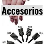Productos y Acessorios para uñas de esmalte permanente o semipermanente.