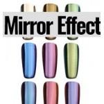 Pigmentos para uñas efecto espejo - Nail Art | Imrepsa