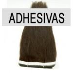 Extensiones adhesivas 100% de pelo natural | Imrepsa